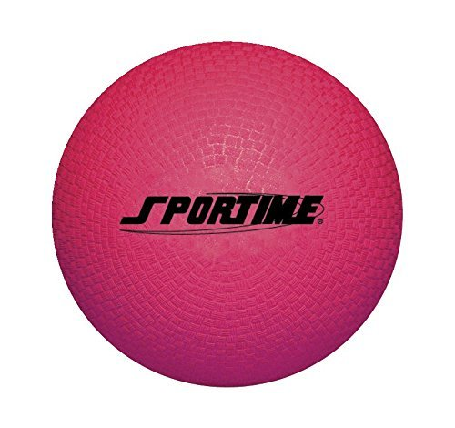 (Sportime Playground Ball, 10 Inches, Red)