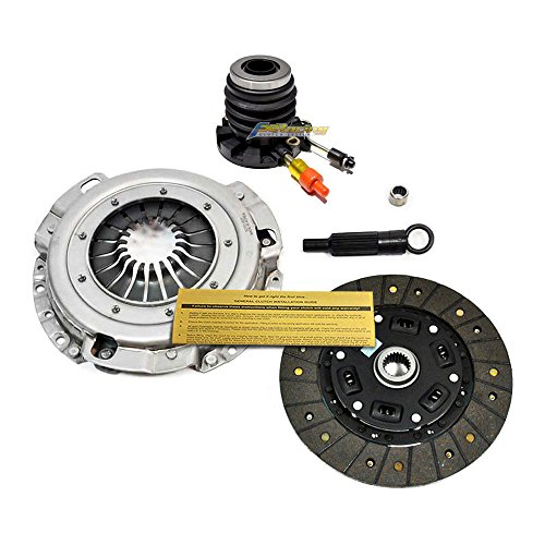 EFT HEAVY-DUTY CLUTCH KIT+SLAVE CYL FOR 93-11/94