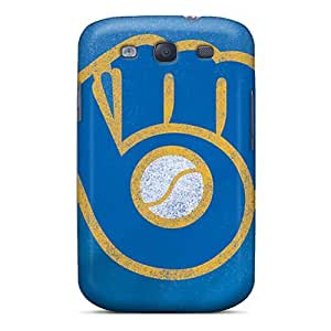 Durable Case For The Galaxy S3- Eco-friendly Retail Packaging(milwaukee Brewers)