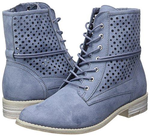 Marco 25101 Militar azure Botas Para Tozzi Azul Mujer CnxxWSrB
