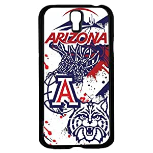 University of Arizona Wildcats Blue, Red and White College Basketball Sports Hard Snap on Phone Case (Galaxy s4 IV)