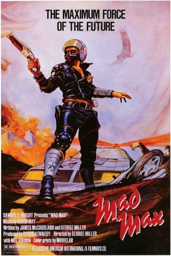 - Mad Max 11x17 Movie Poster (1980)