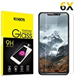 Screen Protector Compatible Motorola One (P30 Play), [6-Pack] KHAOS Tempered Glass Screen Protectors for Motorola One P30 Play - 9H HD-Clear Anti-Scratch
