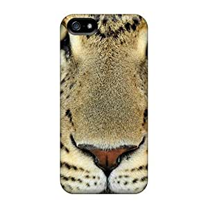 AnnetteL Premium Protective Hard Case For Iphone 6 Plus 5.5 Inch Cover - Nice Design - Leopard Face