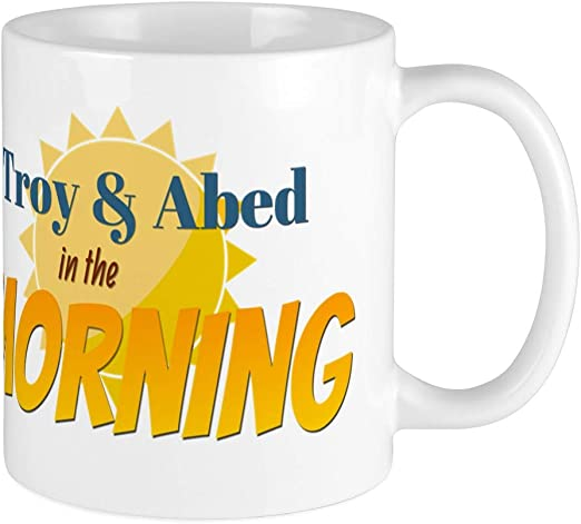 Best 11 Ounce Cer/ámica Coffee Mug Gift Troy Abed Community And In The Morning Cup Mug Coffee