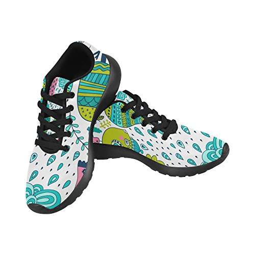 Sports Womens Easy Shoes Go Running Comfort Sneaker Walking Lightweight Jogging Athletic InterestPrint qzYdFwxSY