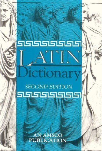 New College Latin and English Dictionary 2nd (second) Edition by Traupman, John published by Amsco School Pubns Inc (1994)