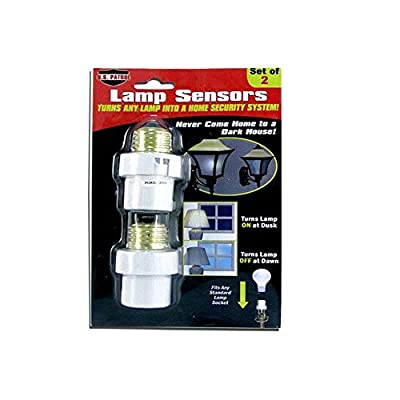 2 Lamp Sensors Automatic Dusk to Dawn Security Light Switch System Socket Must Haves