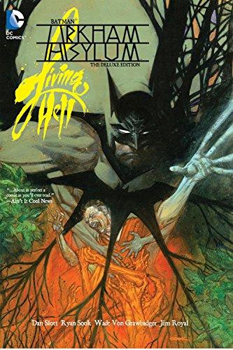 Arkham Asylum Comics - Batman: Arkham Asylum Living Hell, the Deluxe Edition