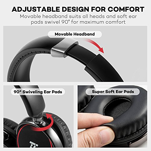 Wireless Headset With Microphone, TaoTronics Bluetooth