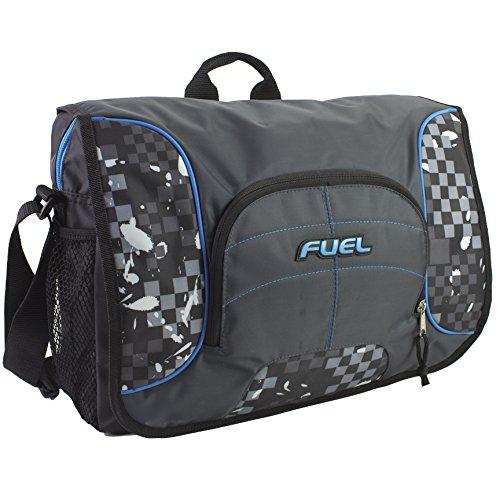 Fuel Tech Padded Messenger, Warped (Best Eastsport Messenger Bags)