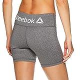Reebok Women's Compression Running Shorts - High Waisted Performance...