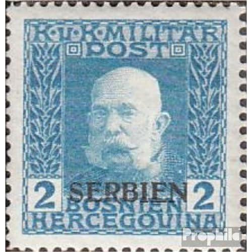 österr.-de campagne serbie 2 1914 bosnie avec surcharge (Timbres pour les collectionneurs)