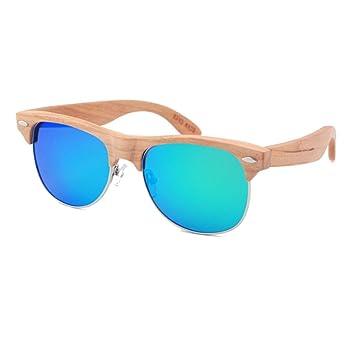 HAOYUXIANG / Skateboard Holz / Polarisiert / Qualität / Mode / Sonnenbrille,C3