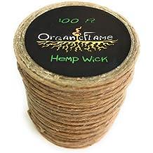 100Ft of Organic Hemp Wick by Organic Flame