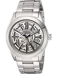 Men's ' Automatic Stainless Steel Dress Watch, Color:Silver-Toned (Model: 10030815)