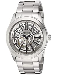 Kenneth Cole New York Men's 10030815 Automatic Analog Display Automatic Self Wind Silver Watch