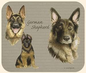 David Kiphuth Dog Breeds German Shepherd Mousepad Mouse Pad