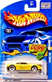 Mattel Hot Wheels 2002 1:64 Scale Yellow Ferrari 348 Die Cast Car #137
