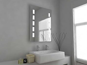 Badschrank modern  Badezimmer Spiegelschrank Modern Spiegel Design Beleuchtet Mit ...