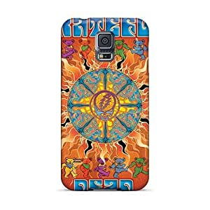Samsung Galaxy S5 VBd22608xixf Provide Private Custom High Resolution Grateful Dead Band Series Durable Hard Phone Cover -ElijahFenn