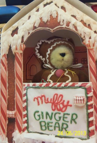 Muffy Vanderbear Gingerbear Ginger Bear Limited Edition Collectible Teddy Bear