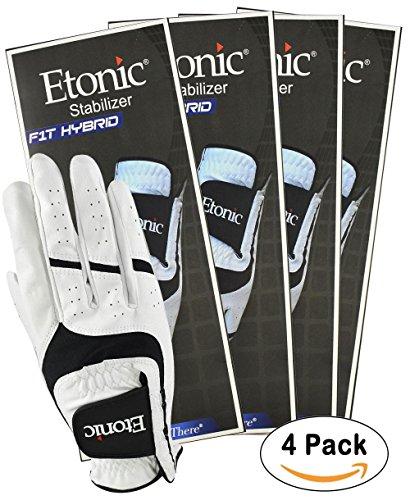 Etonic Golf- MRH Stabilizer F1T Hybrid Glove (4 (Etonic Mens Golf Glove)