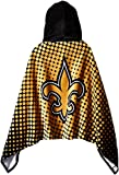 NFL New Orleans Saints 22″ x 51″ Youth Hooded Beach Towel,22-Inch by 51-Inch,Gold