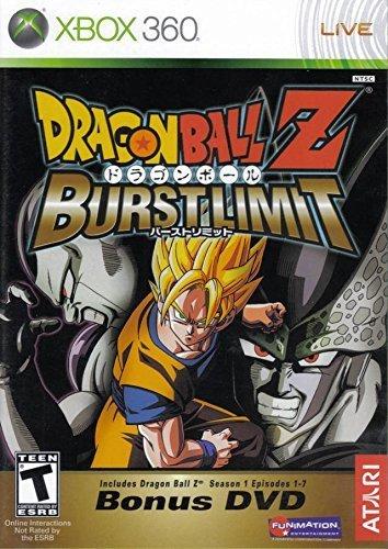 (DragonBall Z Burst Limit With Bonus DVD)