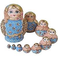 lzndeal - Juego de 10 muñecas Rusas
