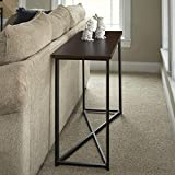 Household Essentials Slim Sofa Table with Metal