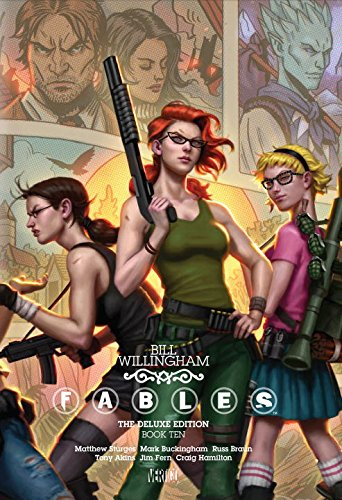 Fables Deluxe Book Bill Willingham