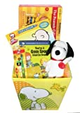 Ultimate Peanuts Gift Basket featuring Snoopy & the Gang, NJCroce Charlie Brown and The Peanuts Bendable Figures Set -
