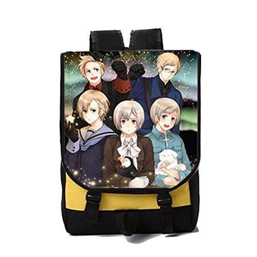 Dreamcosplay Anime Hetalia: Axis Powers Nordic New Backpack Bag Cosplay by Dreamcosplay