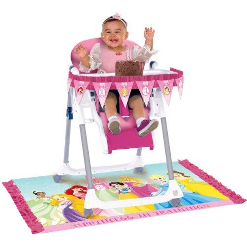 Disney 1st Birthday Princess High Chair