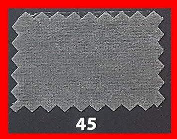 Kadusi Tela Antelina con Tratamiento Repelente al Agua tapizar.Ancho 160 cm Color Gris Oscuro