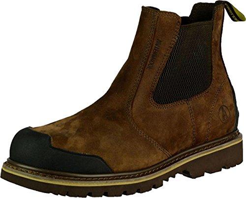 Neue Amblers Safety Herren Sicherheitsschuhe FS225 Händler Schuhe aus Leder, Slip-On Schuh