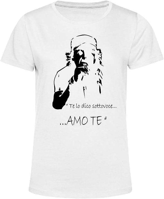 Art T shirt, Maglietta Vasco Rossi Amo Te, Donna