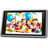 Teckology Silicone Gel Hard Kindle Fire HD8 2016 Cover Military Anti-Shock Kids Safe Proof Soft Gel Case Protective Skin Gray/Black