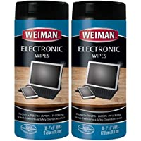 Weiman Electronic Cleaner Wipes - Non Toxic Safely Clean...