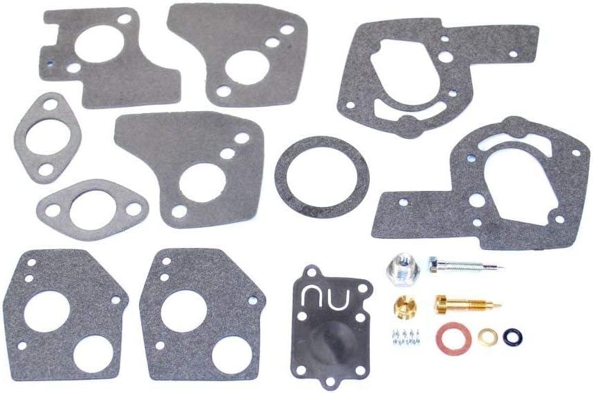Details about  /Carburetor Overhaul Kit For B /& S 494624 495606 3-5HP Engine