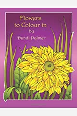 Flowers to Colour In (Coloring Books) Paperback