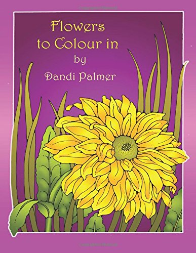 Flowers to Colour In (Coloring Books) pdf epub