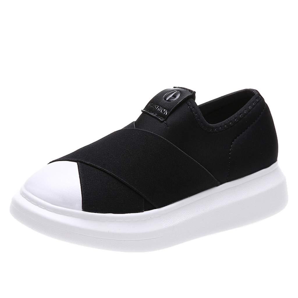 Mujeres Al Aire Libre De Tela Zapatos Deportivos Ocasionales Runing Zapatos Inferiores Gruesos Zapatillas De Deporte