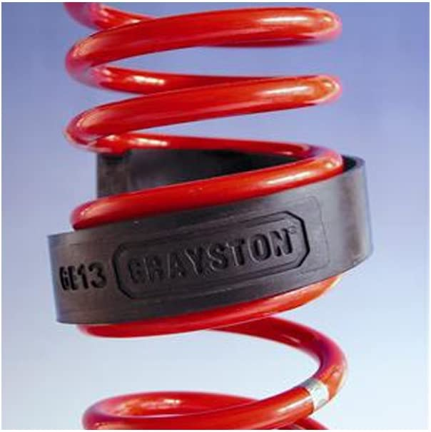 Easy Fit Coil Spring Assistor Kit Spring Supports 52-65mm Towing /& Heavy Loads