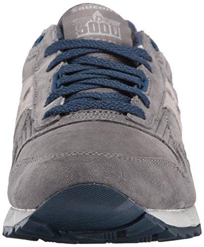 Saucony Originals Hombres Shadow 5000 Classic Retro Sneaker Gris / Azul