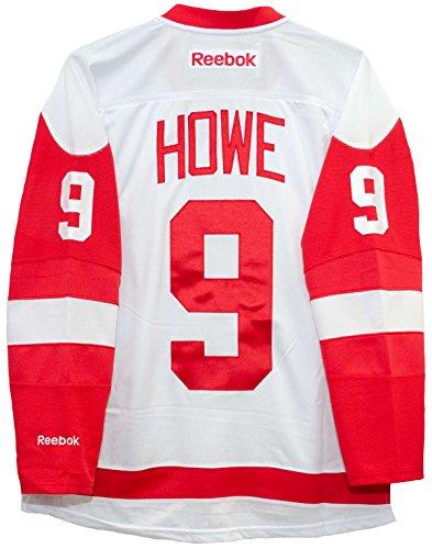 Gordie Howe Detroit Red Wings Reebok Premier Away Jersey NHL Replica
