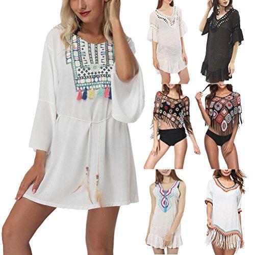 Sunscreen Le Da Squisito Bagno Ups Costume Bikini da Costumi Vestito da Bagno Vacanza Spiaggia Design Cover per Floral Zhuhaitf Signore Donna YPOwdqq