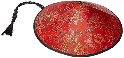 Forum Novelties China Coolie Hat with Braid]()