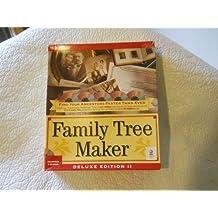 Family Tree Maker Deluxe Edition II for McIntosh/5 CD-ROMs